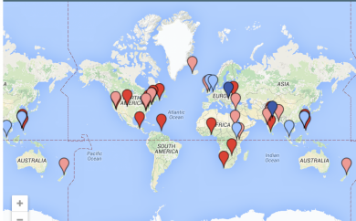 OWASP Foundation Chapter Maps