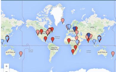 OWASP Foundation Chapter Maps