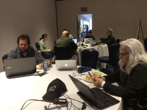 IA Wikipedia Edit-a-Thon at IA Summit. Images by Noreen Whysel. March 27, 2017
